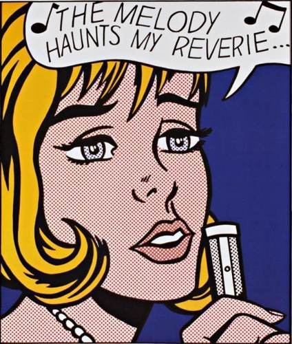 Roy Lichtenstein-The Melody Haunts my Reverie-1991