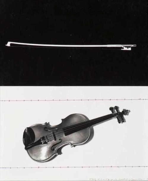 John Baldessari-Composition for Violine and Voices (Male)-1987