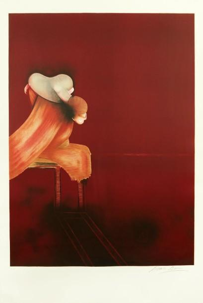 Francis Bacon-Second version of Triptych-1989