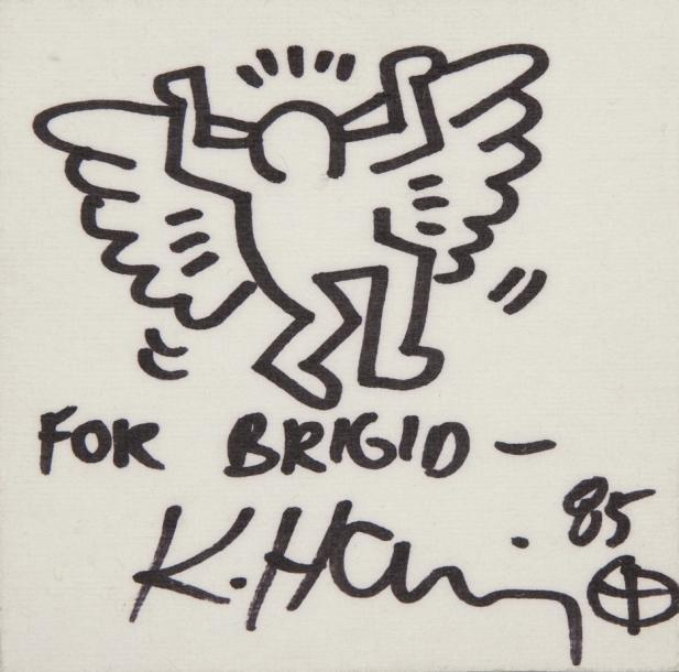 Keith Haring-Keith Haring - Angel-1985