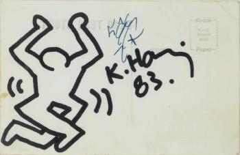 Keith Haring-Keith Haring - Dancing Man-1983