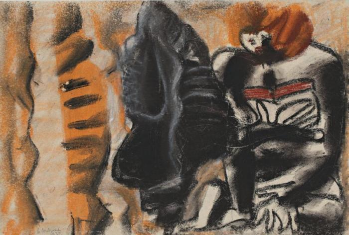 Le Corbusier-Composition aux personnages-1932