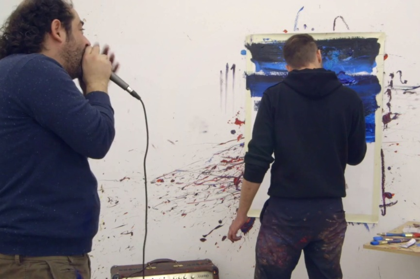 NAVID NUUR & ADRIAN GHENIE - THE POSSIBILITY OF PURPLE