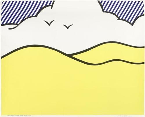 Roy Lichtenstein-Landscape-1980