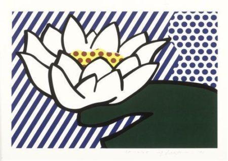 Roy Lichtenstein-Water Lily-1993