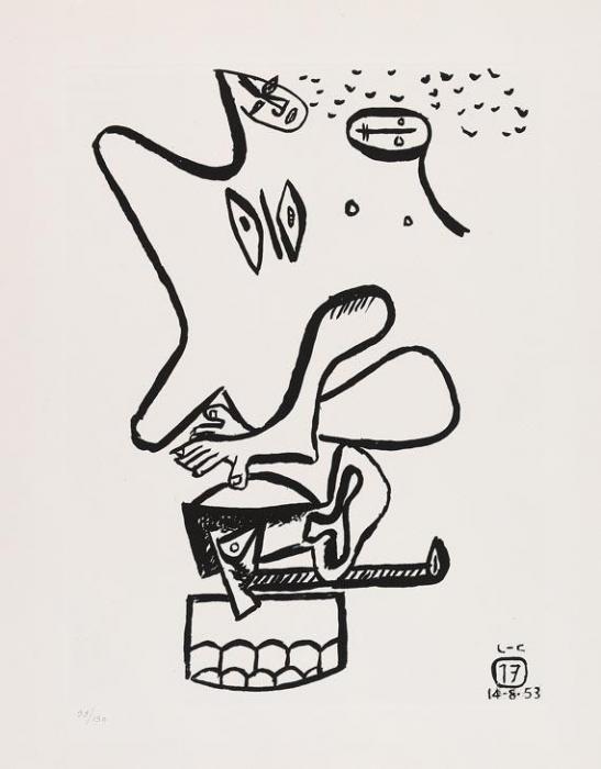 Le Corbusier-Aus: Unite 17-1965
