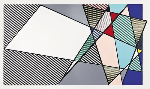 Roy Lichtenstein-Imperfect 58 x 92 3/8-1988
