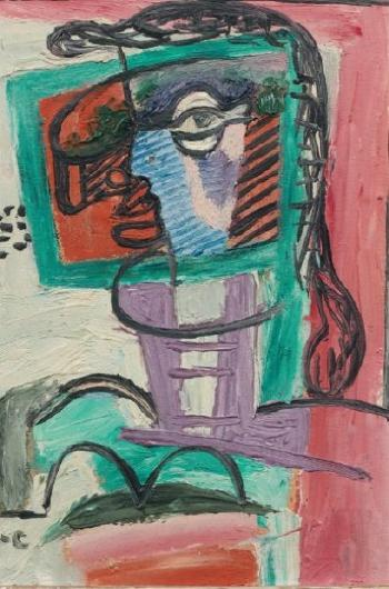Le Corbusier-Femme a la fenetre de Georges-1943