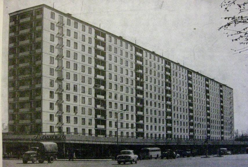 A 1964 Apartment Block in Moscow - Image via europeancollectionscom