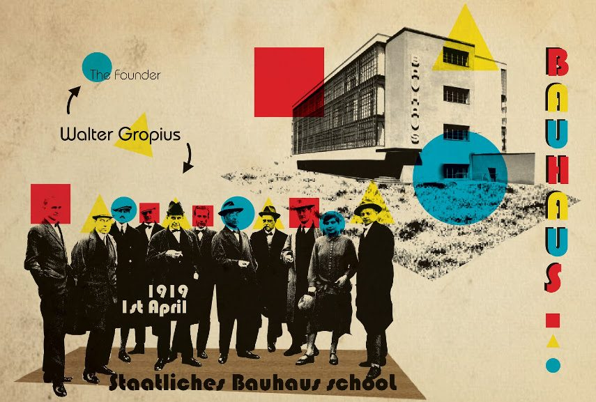 A Bauhaus Poster - Image via bpcom