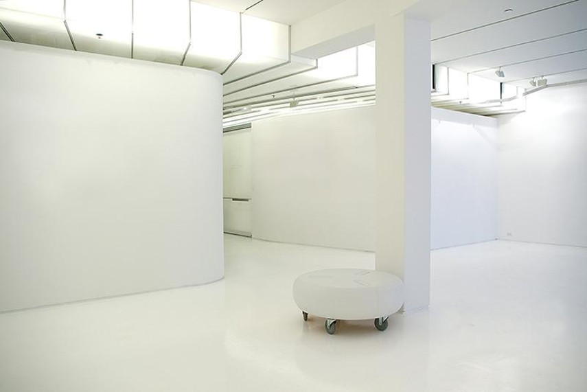 A Photograph of an Emptied Gallery Space