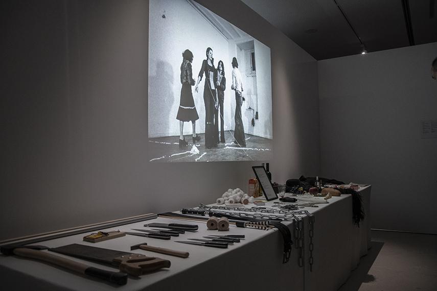 A Presentation of Marina Abramović's Rhythm 0 at MOCA Belgrade