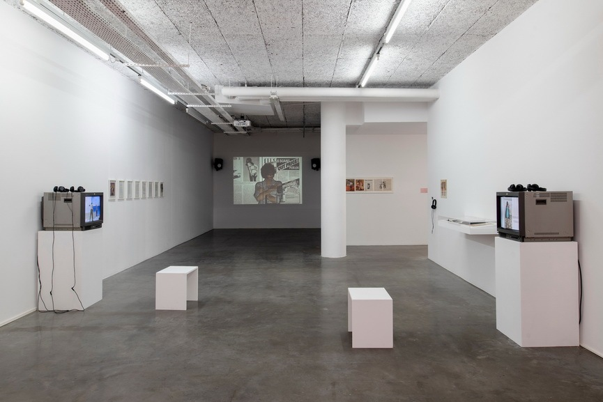 A Study of Scarlet - Installation view