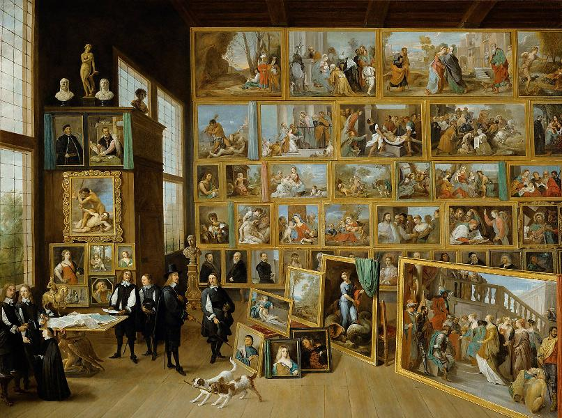 A collection formed by Archduke Leopold Wilhelm of Austria while he was Governor of the Spanish Netherlands from 1647 to 1656