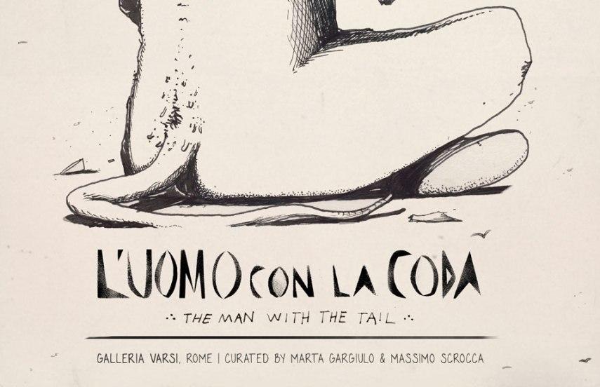L'uomo-con-la-coda, Rome