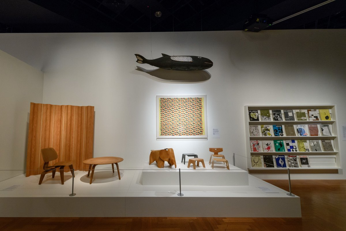 A look inside The World of Charles and Ray Eames