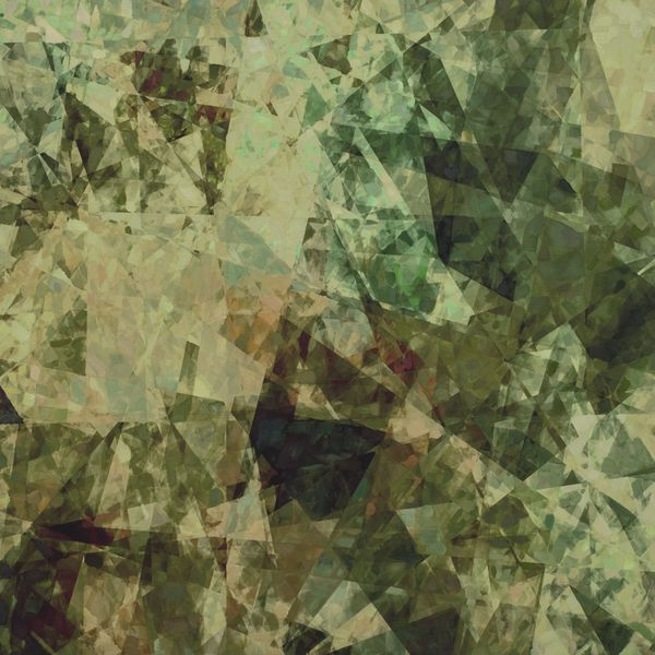 A painting created using data from Ai-Da's data response to an oak tree.