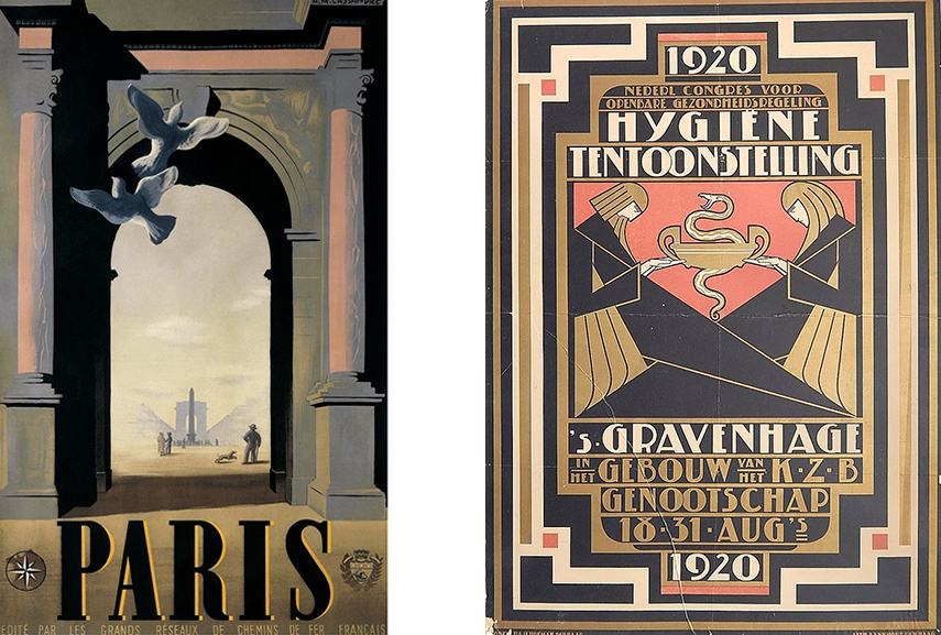 The Irresistible Nature of an Art Deco Poster