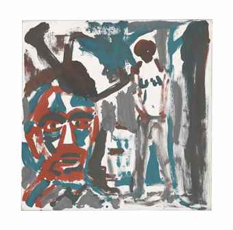 A.R. Penck-Bei Barbel-1977