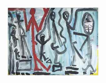 A.R. Penck-GAL Concept-1984