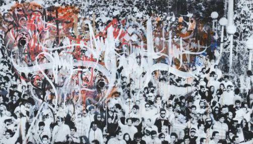 A1ONE - Stenciled Revolution Bishomare (Karan Reshad)-2009