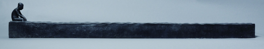 A27 KUNSTBRODER GALLERY, Zhang Yong, Look at the Water, 23 x 12 x 158cm, Bronze, 2008