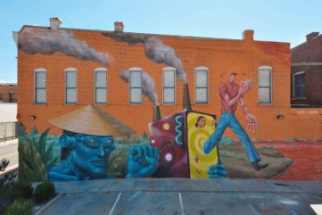 Discovering Hidden Gems of Fort Smith through Art - JustKids and The Unexpected Project