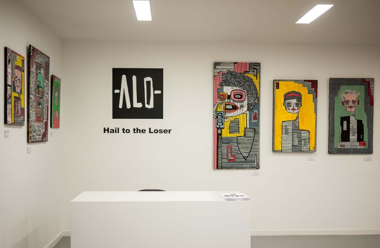 ALO - Hail to the Loser (exhibition view), 2014 - Courtesy of ALO