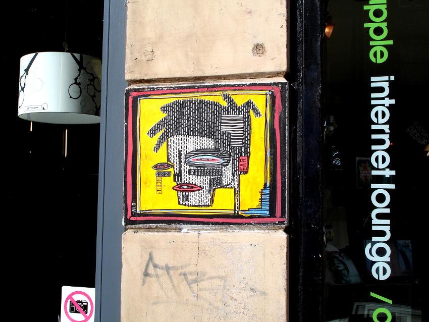 ALO - Yellow Man, London, UK 2014 Photo Credits © MVBC