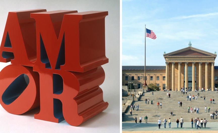 robert indiana amor sculpture