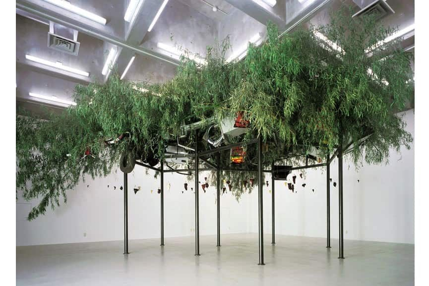 Chen Zhen - Fu Dao/Fu Dao, Upside-Down Buddha/Arrival at Good Fortune, 1997