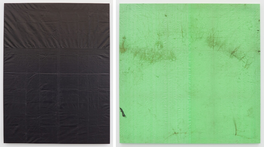 Aaron Bobrow - Church Bus, 2012 (Left) - Dharma Bum, 2012 (Right), image courtesy of Office Baroque, home, contact