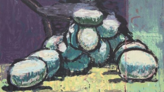 Aaron Fink - Green Grapes, 1994 (detail)