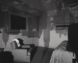 Abelardo Morell-Camera Obscura Image of the Chrysler Building in hotel room-1999