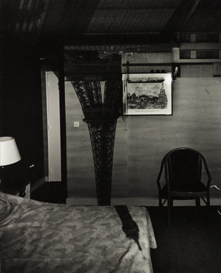 Abelardo Morell-Camera Obscura Image of the Eiffel Tower in the Hotel Frantour-1999