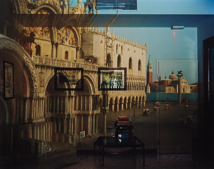 Abelardo Morell-Upright Camera Obscura Image of the Piazzeta San Marco Looking Southeast in Office-2007