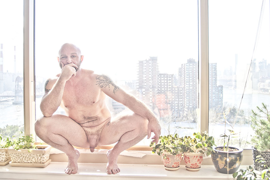 Portraying intimacy in nude male photography series titled Bare Men by Abigail Ekue