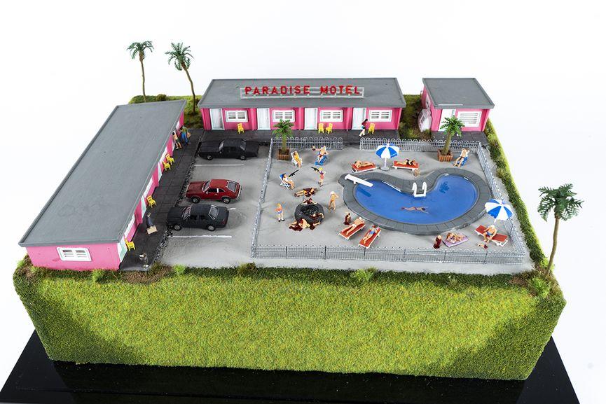 Abigail Goldman - Paradise Motel (detail), 2019