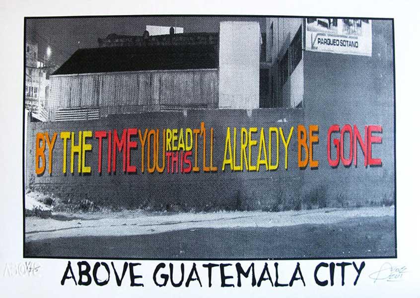 Tavar Zawacki-Above Guatemala City (City Series)-2011