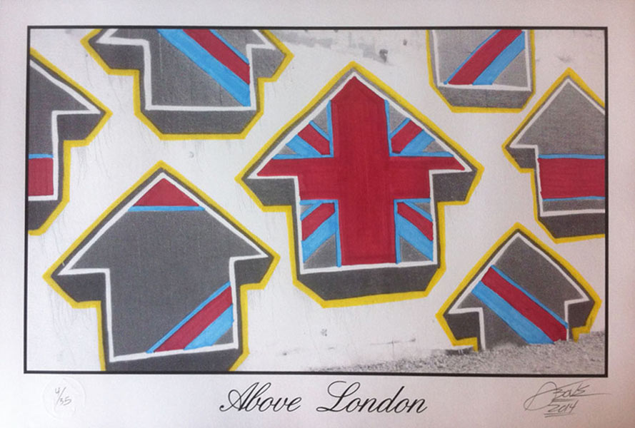 Tavar Zawacki-Above London (City Series)-2014