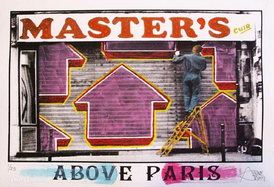 Tavar Zawacki-Above Paris (City Series)-2009