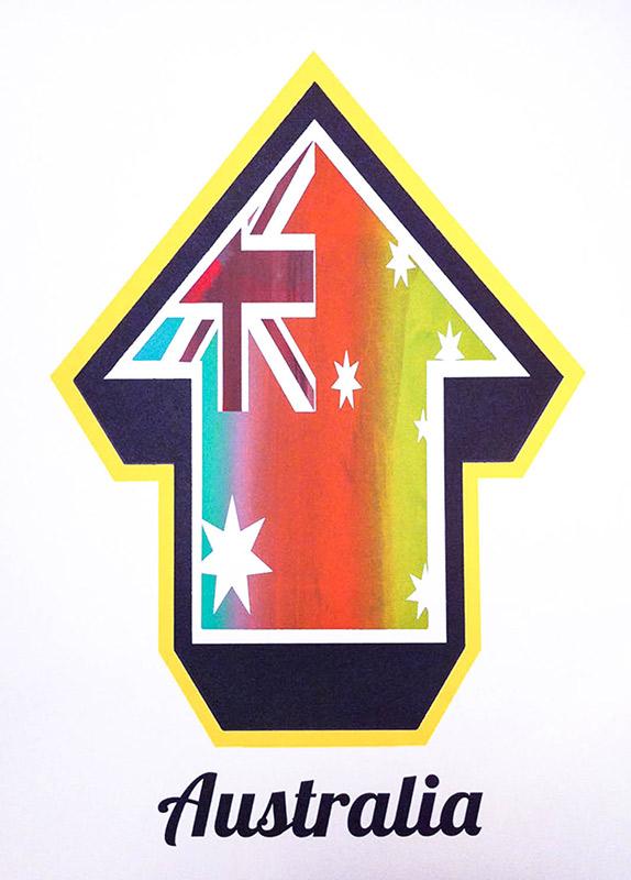 Tavar Zawacki-Arrow Flags (Australia Freak Flag Edition)-2010