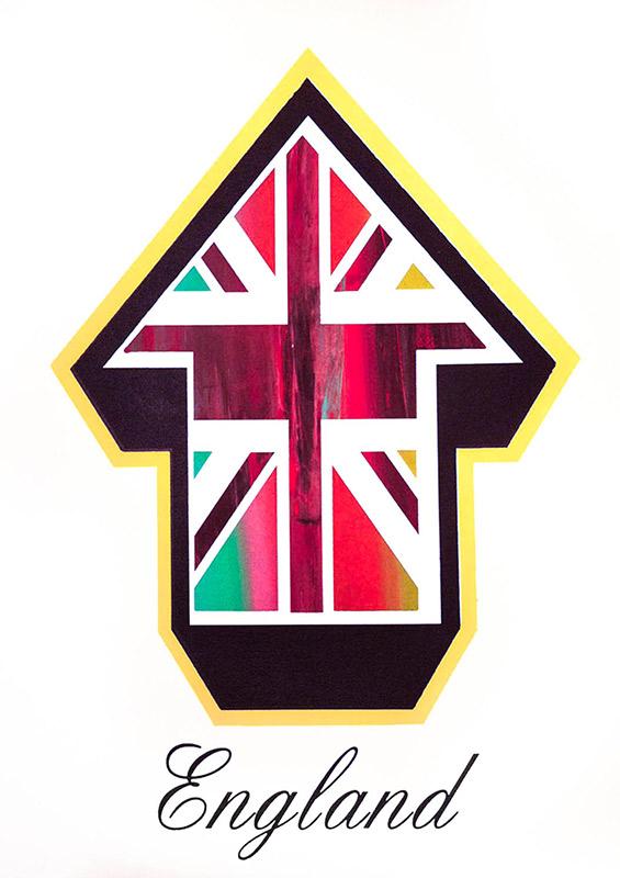 Tavar Zawacki-Arrow Flags (England Freak Flag Edition)-2010