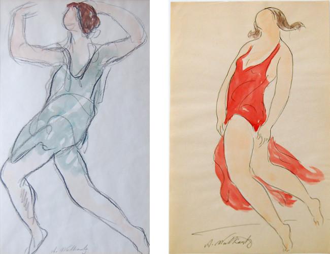 Abraham Walkowitz - Isadora Duncan, ca. 1910