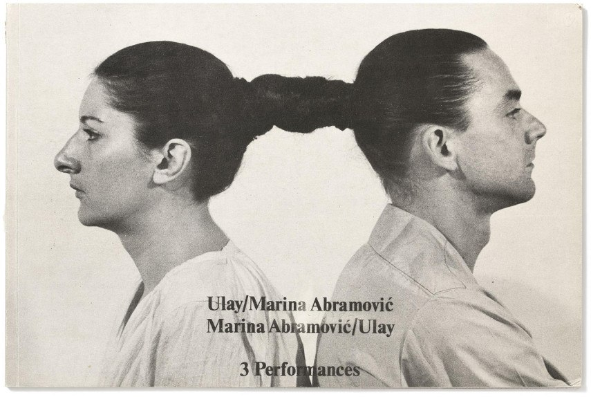 artist's book - Abramović & Ulay - Making Relation, Works, 3 Performances, book of art
