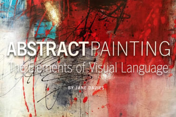 Abstract Painting- The Elements of Visual Language by Jane Davies