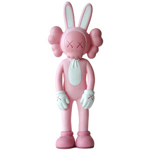 KAWS-Accomplice Pink-2002