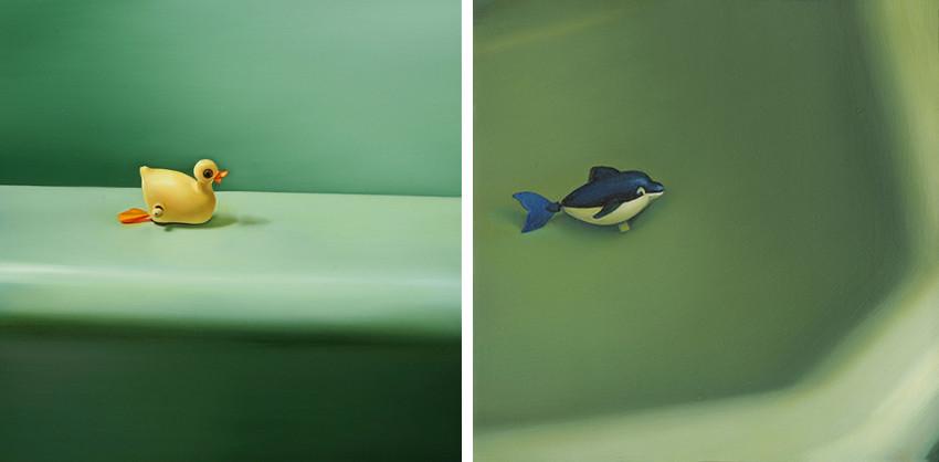 Ada Sadler - Bathtubbie Collection #91, 2012 - Bathtubbie Collection #95, 2012