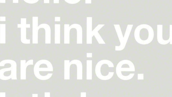 Adam Cohn - Hello I Think You re Nice, Lets be Friends (detail), 2006