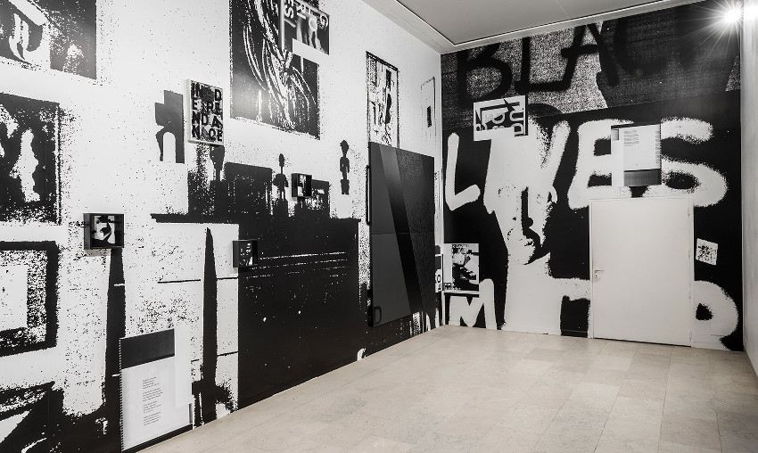 Adam Pendleton - Black Lives Matter, Belgian Pavilion, 56th Venice Biennale, installation view